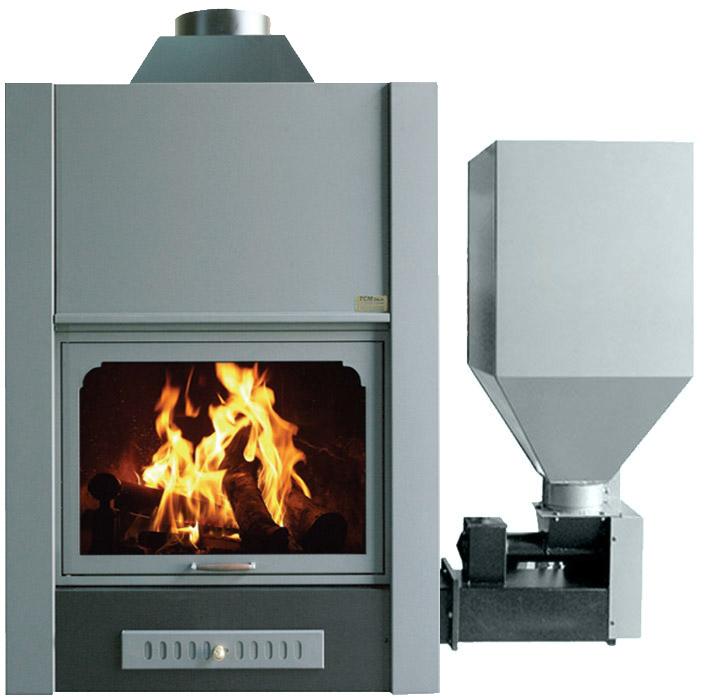 termocamini combinati legna con forno