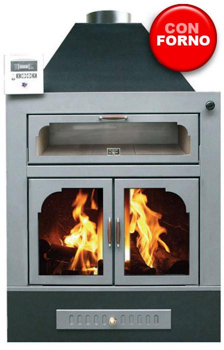 Mod kitchen termocamini a legna camini camini tcm delia - Camino con forno ...