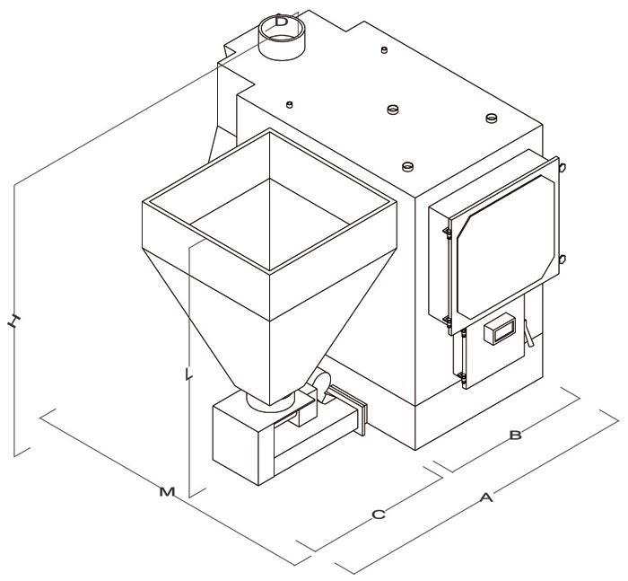 Caldaie Policombustibili - Mod. Thermodel - Camini & Camini - TCM